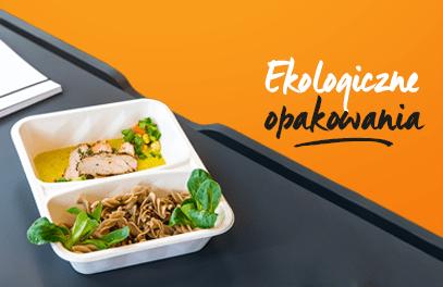 Dietetyczny catering ekologiczny! Eko opakowania dostępne wsprzedaży FitLab!