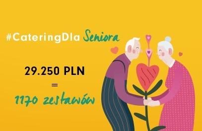 Podsumowanie charytatywnej akcji #CateringDlaSeniora