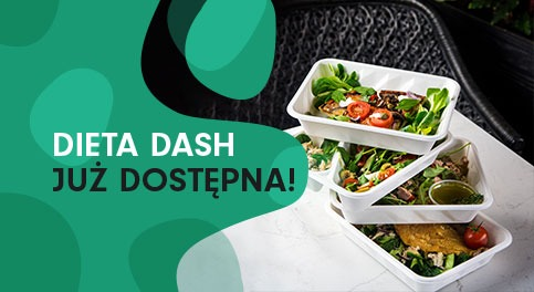 Dieta DASH jużdostępna wFitLab catering!