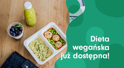 Dieta wegańska jużdostępna wFitLab catering!