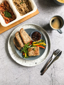 Śniadanie - Pasztet z selerem