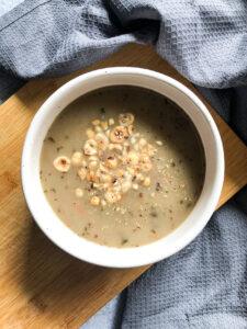 na kolację zupa grzybowa